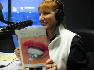 Edita Kaye with book